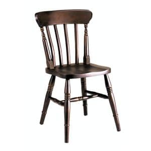 Old chair, Fully solid beech chair for bars and pubs