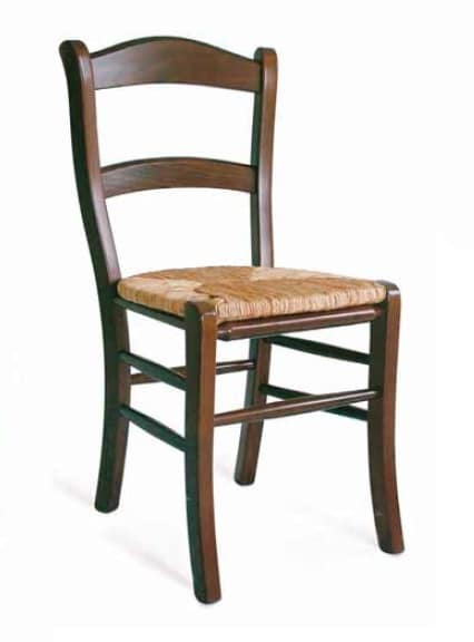 Savoia, Rustic chair with straw seat