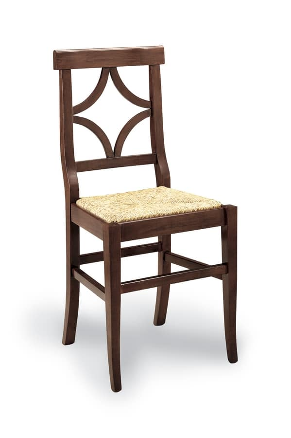 TZ 325, Rustic chair with straw seat