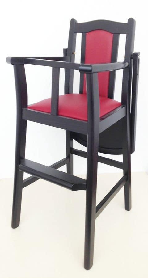 Bimbo, Stool for children for kitchen, children stool for restaurant