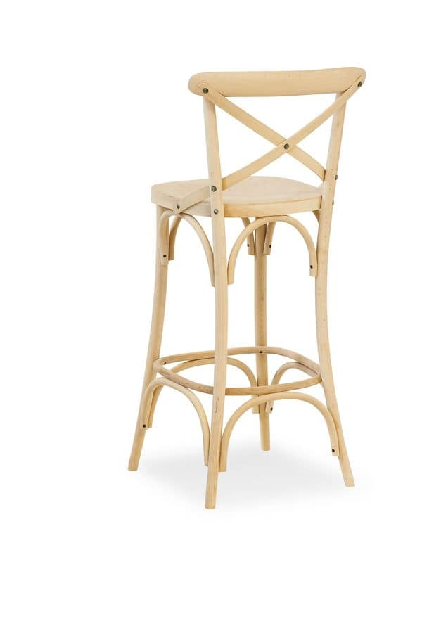 Ciao SG, Beech barstool, various versions and coatings