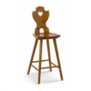 H/308 Cuore, Tyrolean style stool
