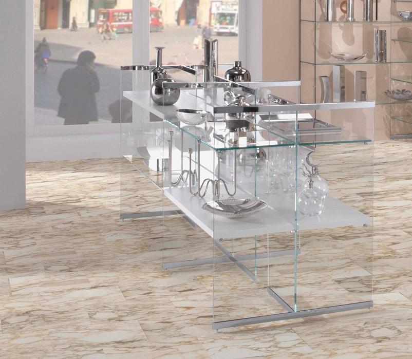 Glassystem COM/GS7, Expositive glass cabinet for shops