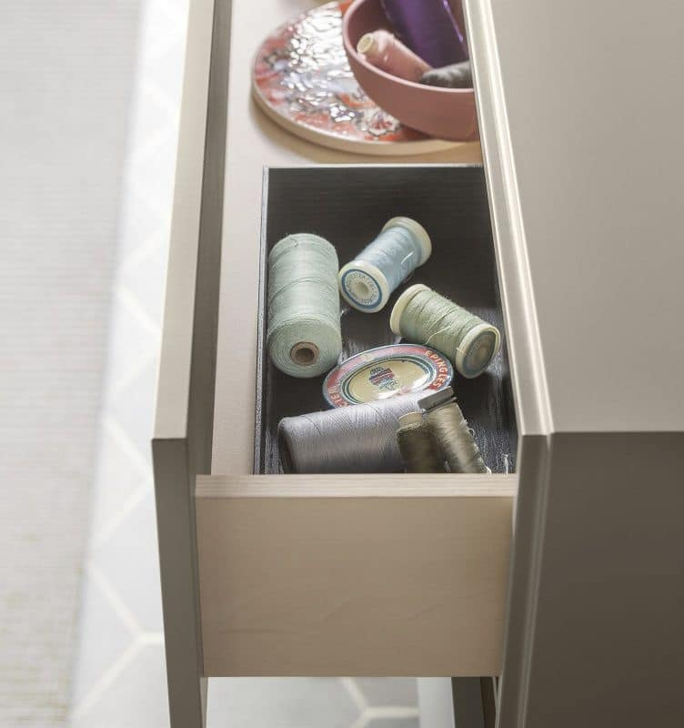 People P203, Modular shelf, modern style, with mirror