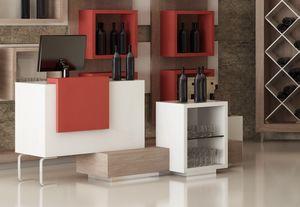 Revolution -  cash counter for wine shop, Cash desk for shops and wine shops