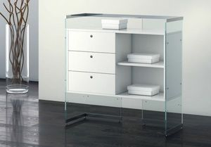 Glassystem COM/GS14, Counter with drawers for shop