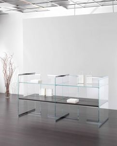 Glassystem COM/GS18, Display cabinet for shop