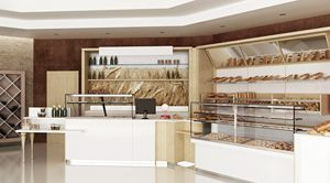 Revolution - bakery furniture, Complete furniture for bakery