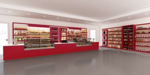 Revolution - furniture for bakery, Furniture designed specifically for bakery