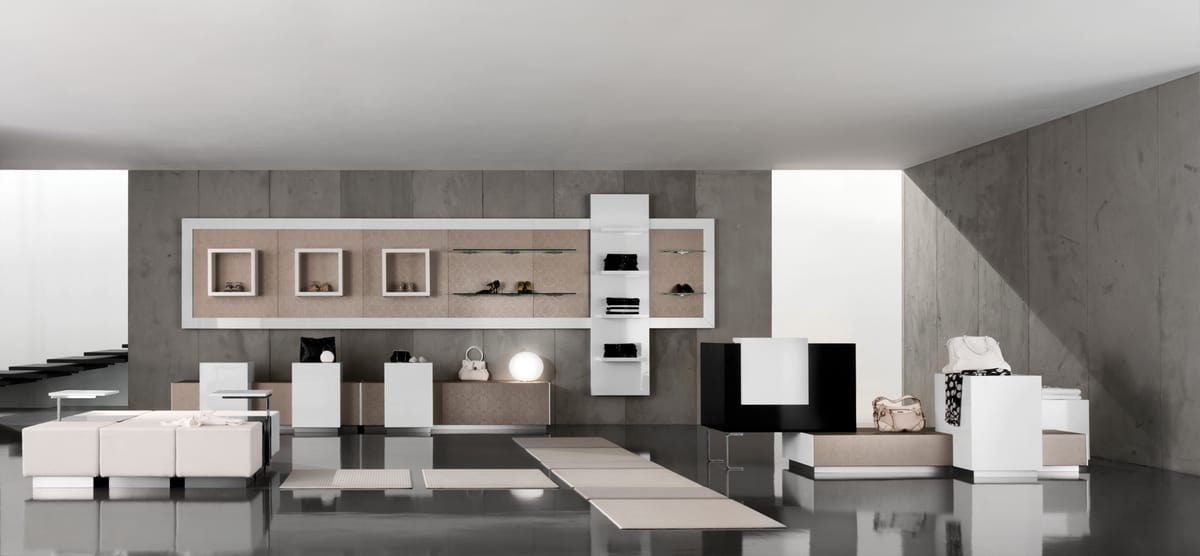 Revolution - furniture for clothing stores, Elegant furnishings for clothing store
