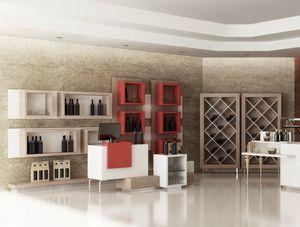Revolution - furniture for wine bar shop, Furniture for shops, wine bars