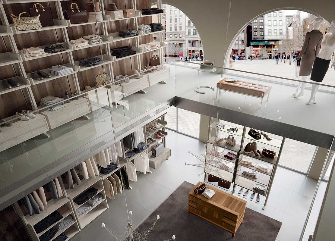 Shop shelves, Modular furniture for shop