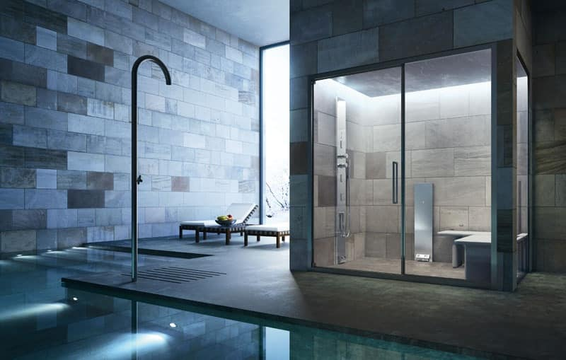Shower Solution Tailored Transparent Glass Idfdesign