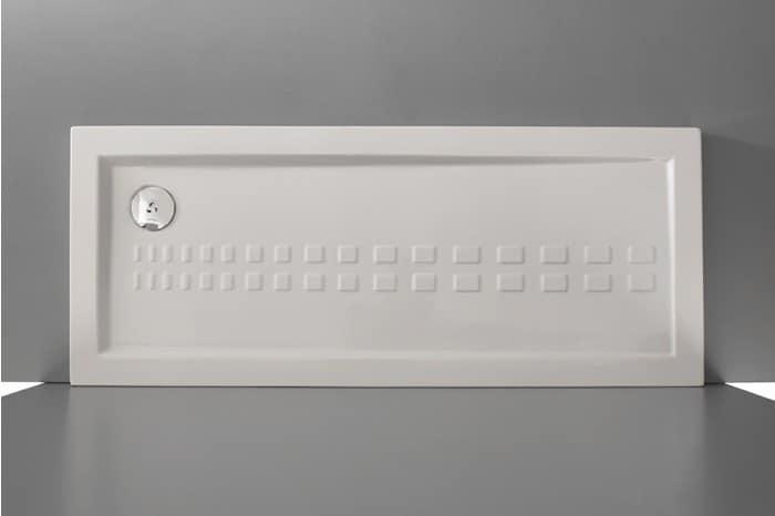 Super Flat Shower Tray Made Of Ceramic Idfdesign