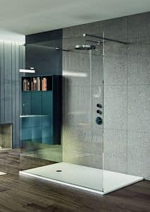 Naos, Shower tray available with various finishings