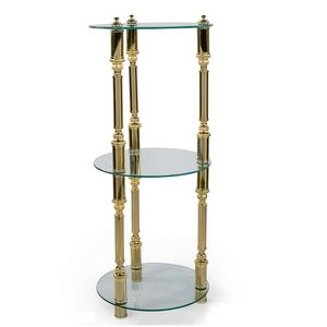 2003, Classic side table with three glass shelves