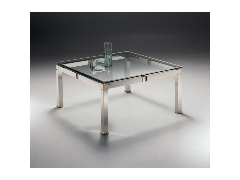 AMADEUS 3068, Square coffee table for living room and waiting areas