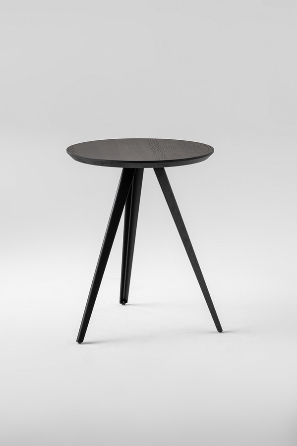ART. 0099-3-60CONTRACT AKY, Coffee table with round base