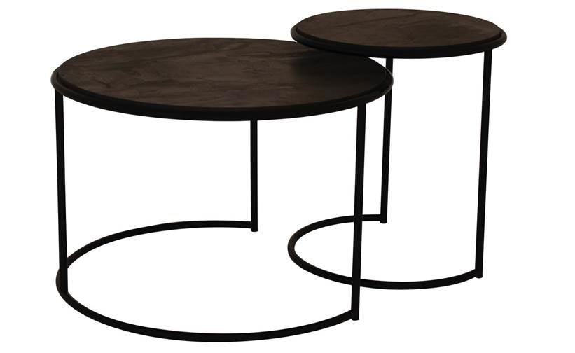 Art.Otello e Desdemone, Metal coffee tables