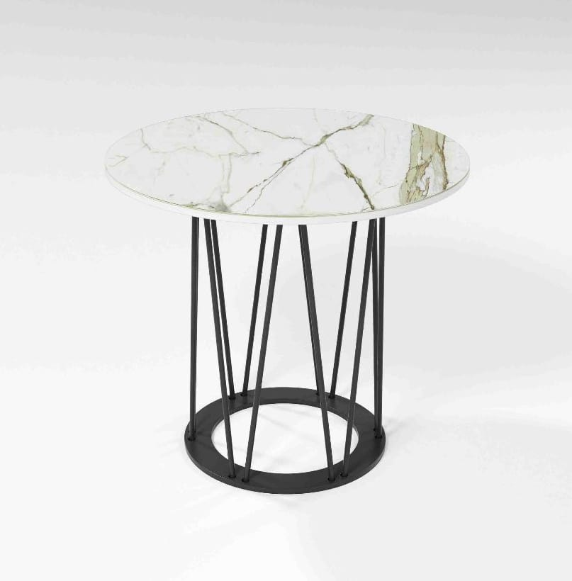 Astorga, Coffee table with iron base
