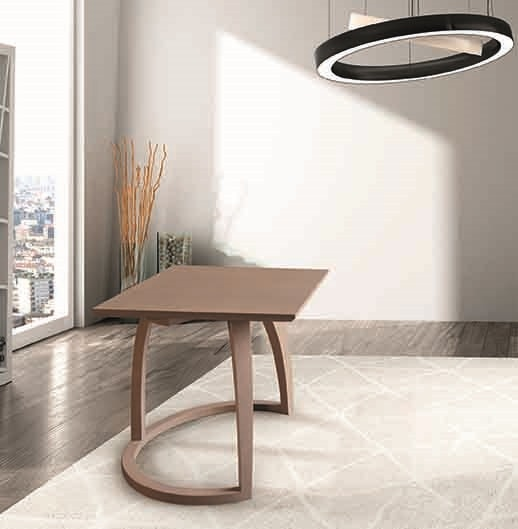 BS609TW - Coffee table, Solid wood coffee table