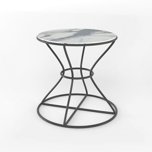 Clessidra Light, Side table with round top