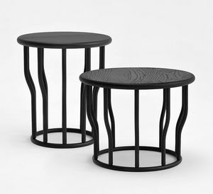 Cosse, Coffee tables in ash wood, round top