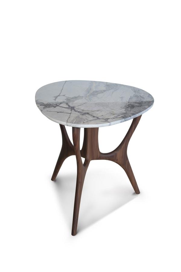 DEDALO small table GEA Collection, Contemporary luxury small tables