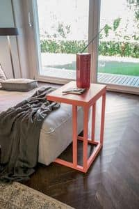 DIVA, Metal coffee table, modern coffee table for home