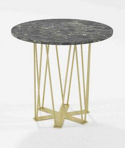 Estella, Coffee table with iron base