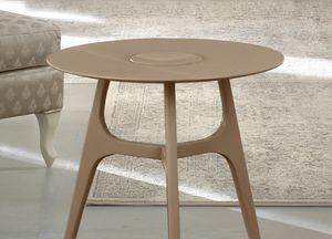Gold Art. 4631, 3-legged wooden coffee table