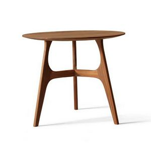 H-122, Round wooden side table