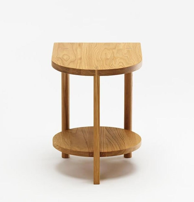 Hardy, Side table with one curved side