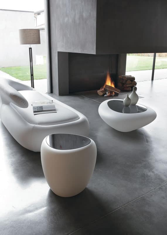 IOS side table, Modern, multi-function table, for living room