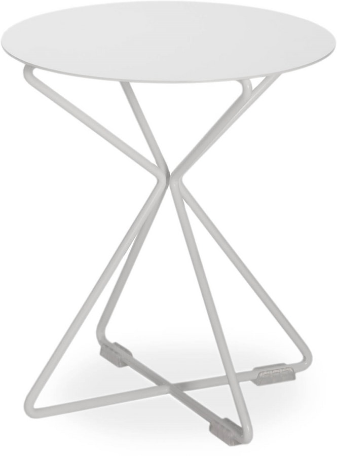 Jolie TA, Round metal coffee table, for outdoors