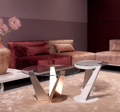 Klee, Coffee tables, with a slender design