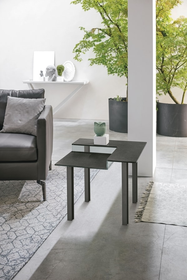 LEVELS S TL514, Coffee table with  stoneware top