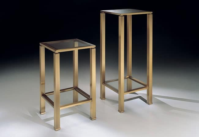 MADISON 3296, Coffee table column, for elegant lounges