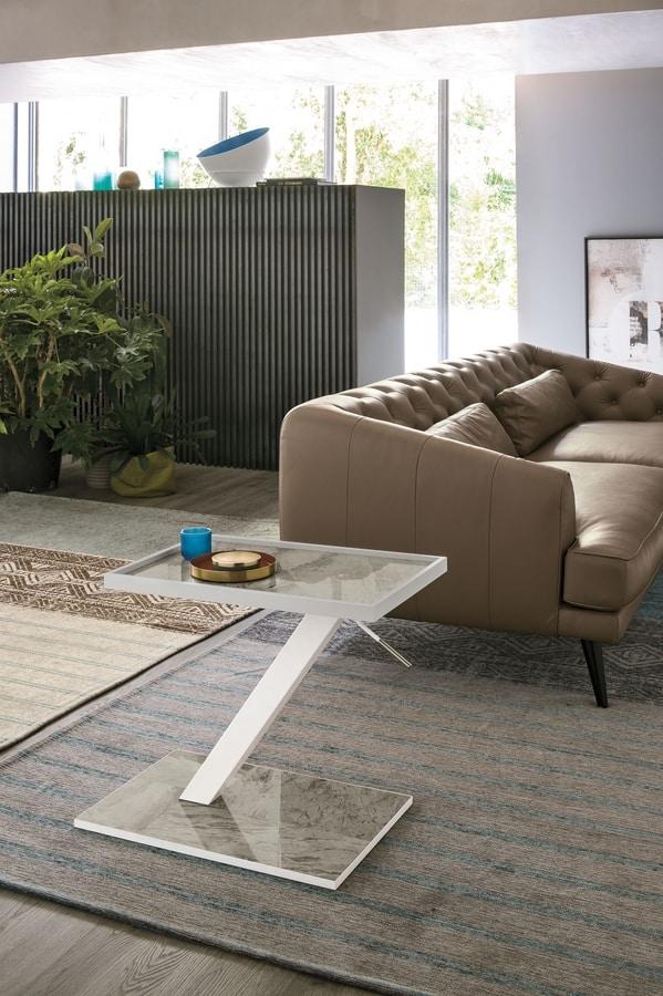 NISUS TL523, Height adjustable coffee table