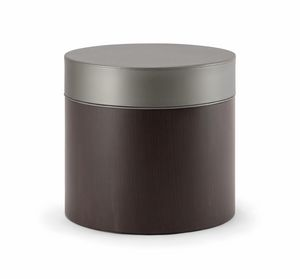 OSLO COFFEE TABLE 086 T H45, Coffee table with padded round top