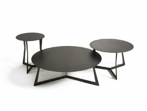 Planet, Metal small tables with round top