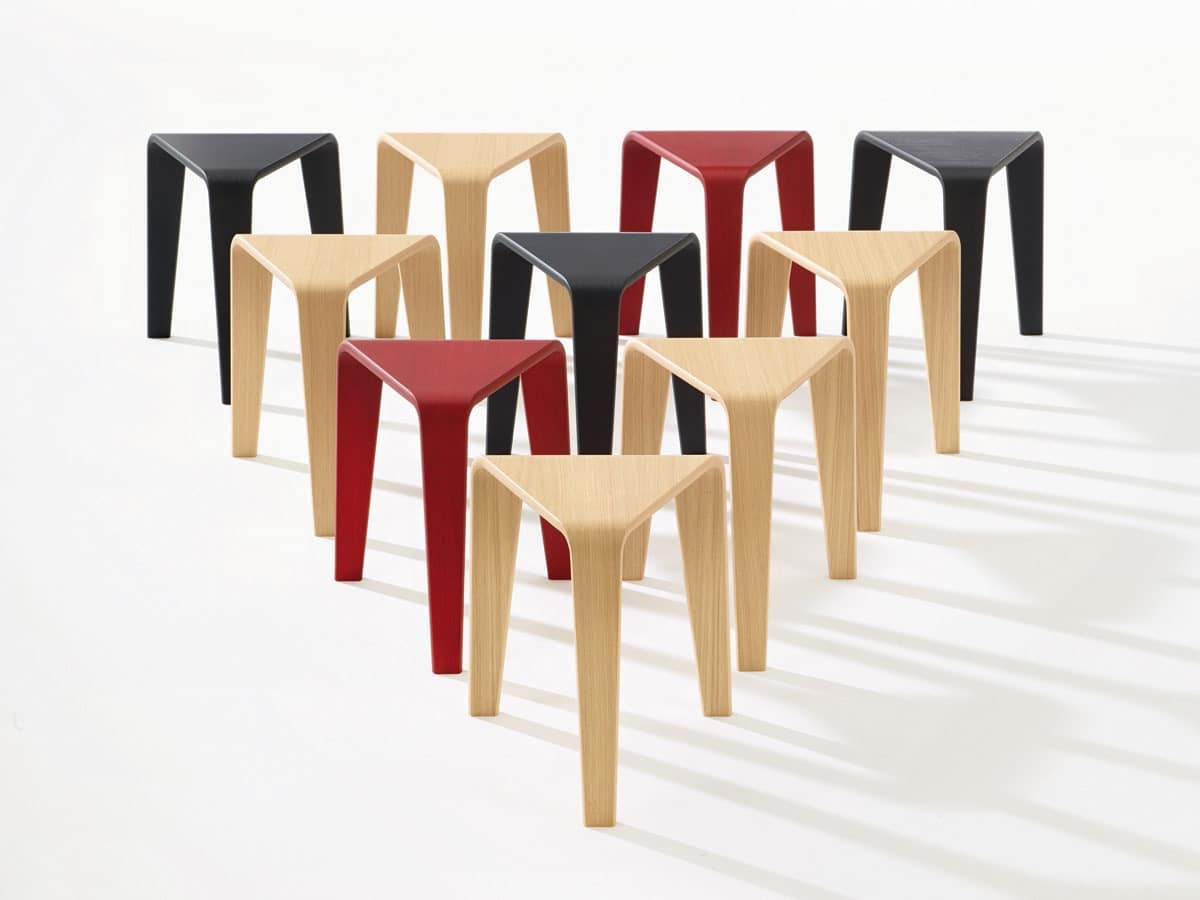 Ply, Tables with alternative forms, minimal structure in wood