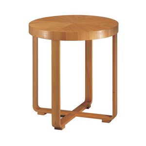 Remo 5645, Round wooden side table