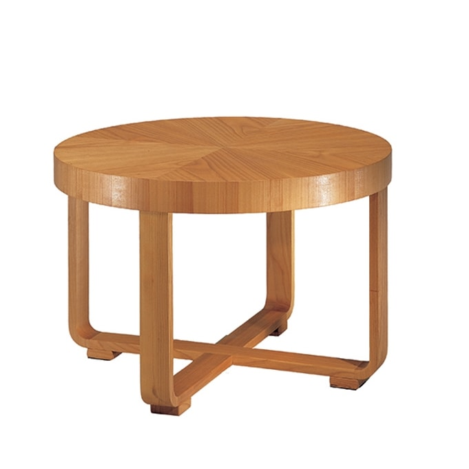 Remo 5646, Coffee table with curved cross-joined legs