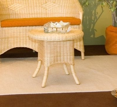 Small table Berna, Ethnic coffee table with legs