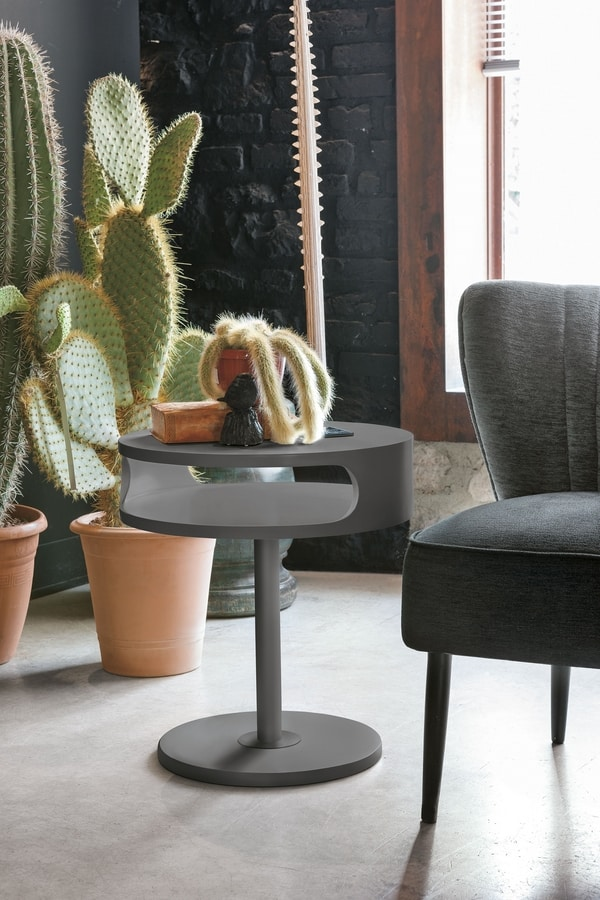 TAPAO TL155, Painted side table, with round top