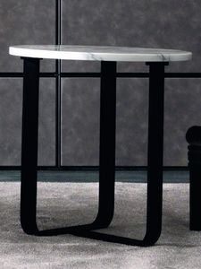 Tiago Art. 118-M - 118-L, Modern side table with round top