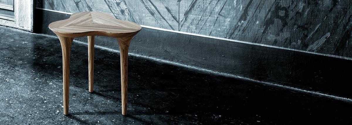 Trifoglio 5620/F, Clover-shaped coffee table