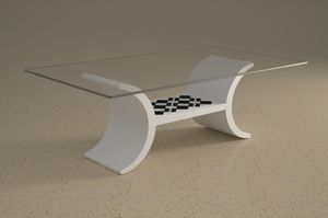 Turiacus, Coffee table with lower shelf