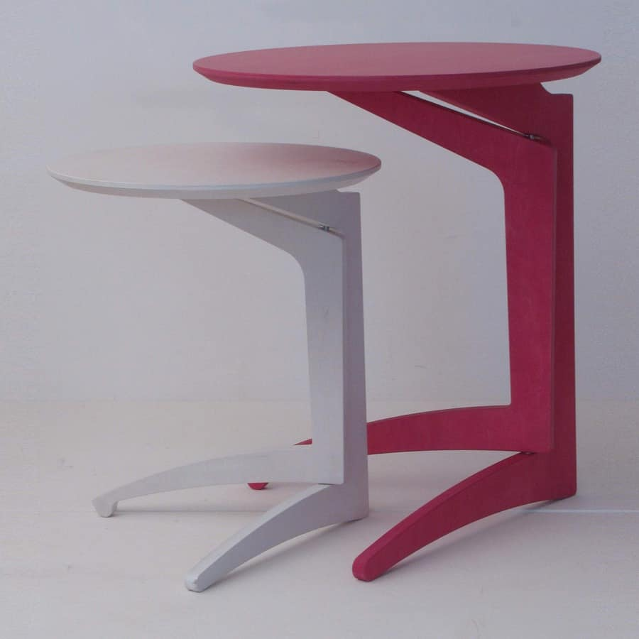 Twin Milano, Folding table in beech, modern style